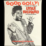 Good Golly - The Life and Times of Little Richard Book Release Poster