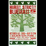 Hatch Show Print Hardly Strictly Bluegrass 5 Poster
