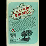 Isle of Printing Hardly Strictly Bluegrass 6 Poster