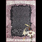 Hardly Strictly Bluegrass 2015 Poster