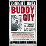 Hatch Show Print Buddy Guy Poster