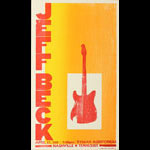 Hatch Show Print Jeff Beck Poster