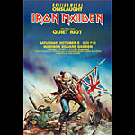 Iron Maiden Madison Square Garden Poster