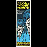 Jeff Gaither Jagged Thought Process Poster