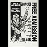 Jeff Gaither Local Artist Showcase (Normal IL) - Low Twelve Poster