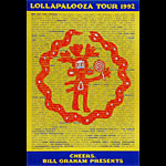 Lollapalooza 1992 Poster