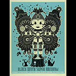 Methane Studios Black Moth Super Rainbow Poster