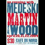 Hatch Show Print Medeski Martin and Wood Poster