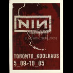 Nine Inch Nails Art Director Rob Sheridan Nine Inch Nails (NIN) Live With Teeth 2005 Tour Poster