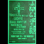 Toots and the Maytals - One Love Festival Poster