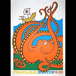 Ames Brothers Pearl Jam Poster
