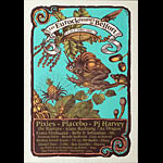 Bongout The Pixies with Placebo and PJ Harvey Poster