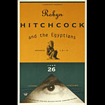 Thomas Scott (Eyenoise) Robyn Hitchcock and the Egyptians Poster