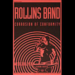 Thomas Scott (Eyenoise) (Henry) Rollins Band Poster