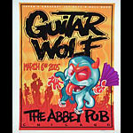 Rob Schwager Guitar Wolf Poster