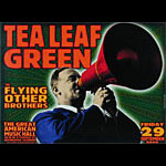 Chris Shaw Tea Leaf Green Poster