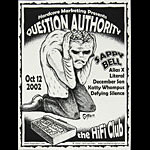 Jeff Gaither Question Authority - Sappy Bell Poster