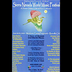 Sierra Nevada World Music Festival 2008 Poster