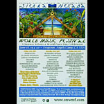 11th Annual Sierra Nevada World Music Festival Poster