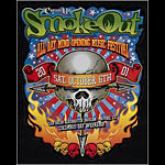 SmokeOut Cypress Hill Die Cut 2-Sided Handbill