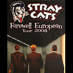 Stray Cats Farewell European Tour 2008 Poster
