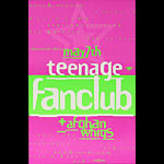 Thomas Scott (Eyenoise) Teenage Fanclub and Afghan Whigs Poster