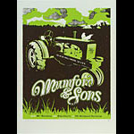 Andrew Vastaugh Mumford and Sons Poster