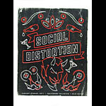 Andrew Vastagh Social Distortion Poster