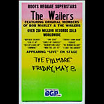 The Wailers Cardboard Fillmore Poster