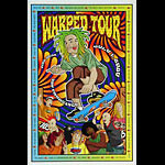 Gregg Gordon Warped Tour 2000 Poster