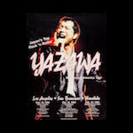 Yazawa 1999 North American Tour Poster