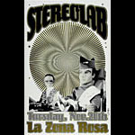 Jared Connor Stereolab Thunderbirds Poster