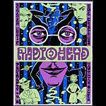 Ward Sutton Radiohead Poster