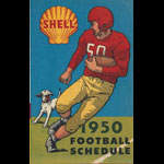1950 Shell Comprehensive College Football Schedule