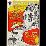 Greg Irons Space Ace Presents Steve Miller Blues Band Handbill