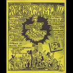 Gilbert Shelton Rockarama featuring Santana and Alice Cooper Poster