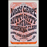 The Mod Russian Moby Grape Handbill
