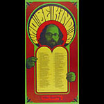 Wes Wilson Allen Ginsberg Broadside Who Be Kind To Poster