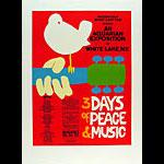 Arnold Skolnick Woodstock Poster