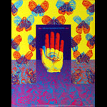 Victor Moscoso NR # 26-1 San Francisco Poster Show Neon Rose NR26 (B-7) Poster