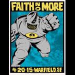 Alan Forbes Faith No More Poster