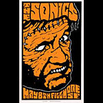 Alan Forbes The Sonics  Poster