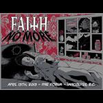 Mick Gray & Sinclair Klugarsh Faith No More Poster