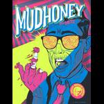 Zombie Yeti Mudhoney Poster
