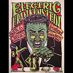 Michael Michael Motorcycle Electric Frankenstein Poster