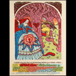 Michael Michael Motorcycle Nick Cave - All Tomorrow's Parties Festival Poster
