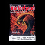 Motorhead 1998 Snake Bite Love Album Release German Poster