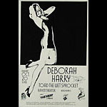 Stanley Mouse Deborah Harry Poster - signed