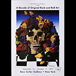 Stanley Mouse A Decade of Original Rock-and-Roll Art Stanley Mouse Exhibition Poster - signed