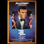 James Bond 007 - Never Say Never Again Movie Poster